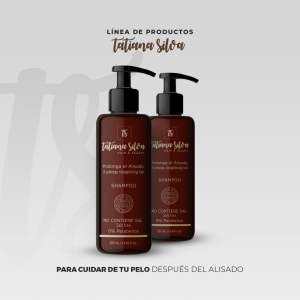 Shampoo Liso Prolongado